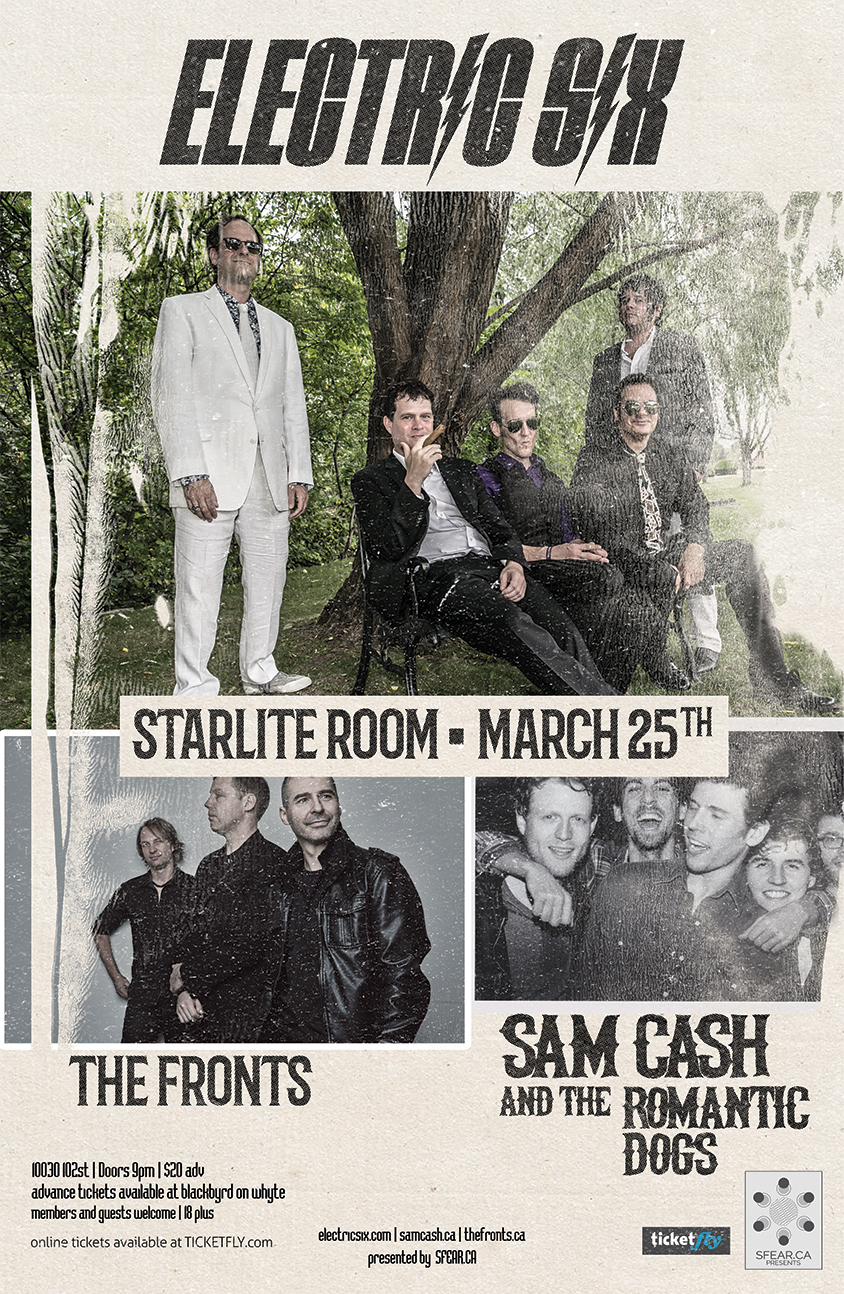 Playing with Electric Six march 25 2016 at Starlite Room