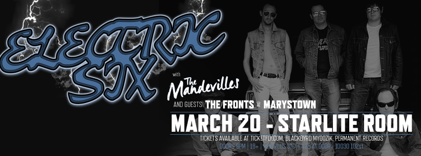 The Fronts with Electric Six at the Starlite Room March 20 2015